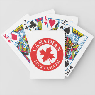 Baraja De Cartas Bicycle Canada Lucky Charm Luck ED. Series
