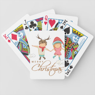Baraja De Cartas Bicycle Chirtsmas 5