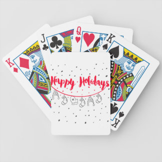 Baraja De Cartas Bicycle Chirtsmas 9