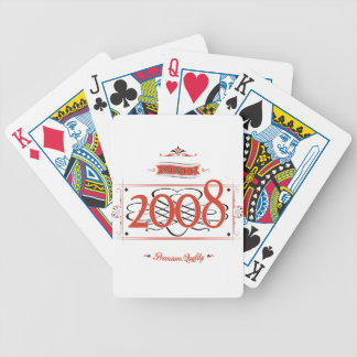 Baraja De Cartas Bicycle Desde 2008 (Red&Black)