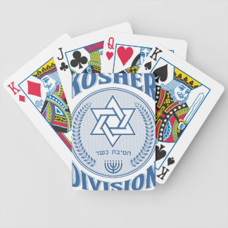 Baraja De Cartas Bicycle División kosher