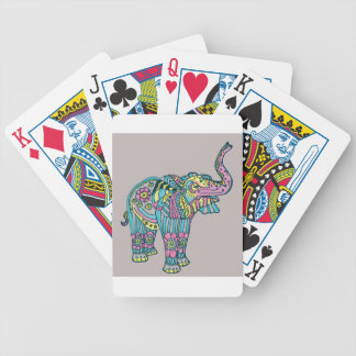 Baraja De Cartas Bicycle Elefante feliz