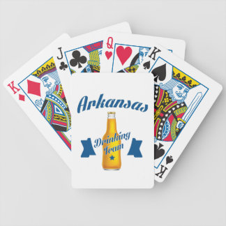 Baraja De Cartas Bicycle Equipo de consumición de Arkansas