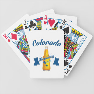 Baraja De Cartas Bicycle Equipo de consumición de Colorado