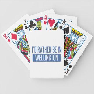 Baraja De Cartas Bicycle Estaría bastante en Wellington