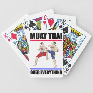 Baraja De Cartas Bicycle Excesivo tailandés de Muay todo