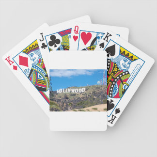 Baraja De Cartas Bicycle Hollywood Hills