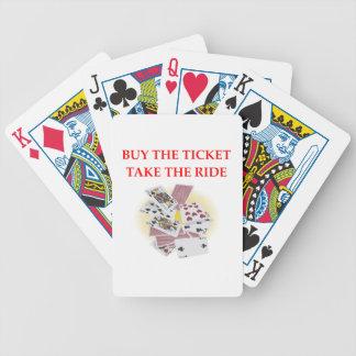 Baraja De Cartas Bicycle jugador de tarjeta