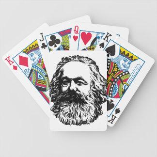 Baraja De Cartas Bicycle Karl Marx - comunismo