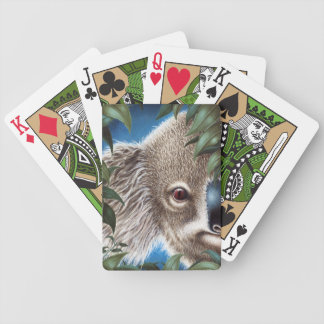 Baraja De Cartas Bicycle Koala de los objetos curiosos
