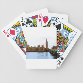 Baraja De Cartas Bicycle Londres - Westminster abstractos