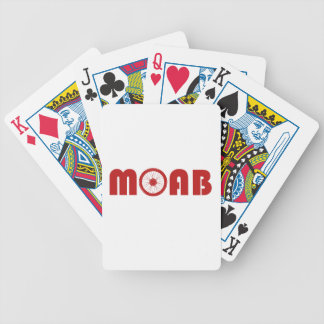 Baraja De Cartas Bicycle Moab (rueda de la bici)