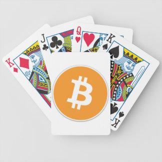 Baraja De Cartas Bicycle ¡Moneda Crypto de Bitcoin - para el Bitcoin aviva!