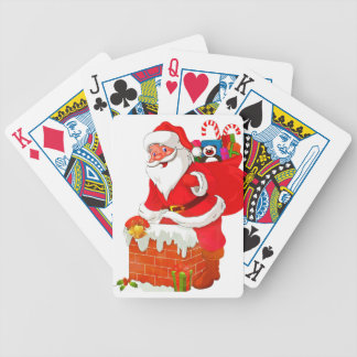 Baraja De Cartas Bicycle Papá Noel
