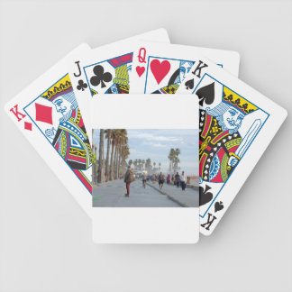 Baraja De Cartas Bicycle patinaje a la playa de Venecia