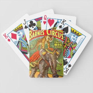 Baraja De Cartas Bicycle Poster del circo