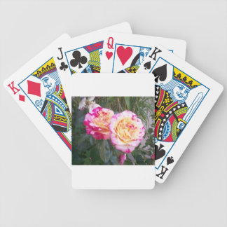 Baraja De Cartas Bicycle Rosas alemanes únicos