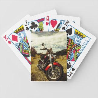 Baraja De Cartas Bicycle Tarjetas del póker de la motocicleta
