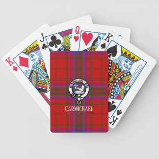 Baraja De Cartas Bicycle Tela escocesa y escudo de tartán de Macdougall