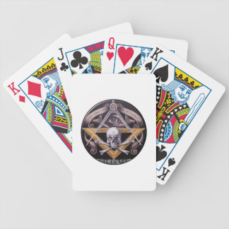Baraja De Cartas Bicycle Virtud masónica