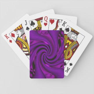 Baraja De Cartas Bonito en púrpura…