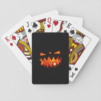 Baraja De Cartas Calabaza de Halloween