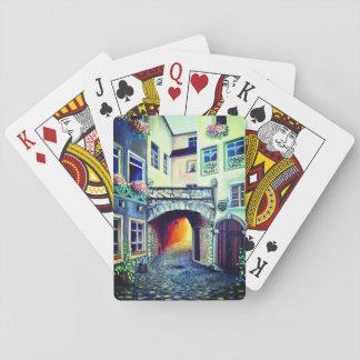 Baraja De Cartas Ciudad del bohemio de Dreamscape Luxemburgo