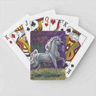 Baraja De Cartas Claro del unicornio