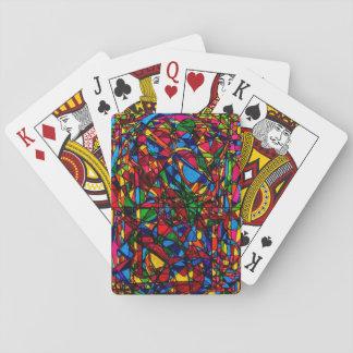 Baraja De Cartas Consiga la diversión y la SUERTE de tarjetas de la