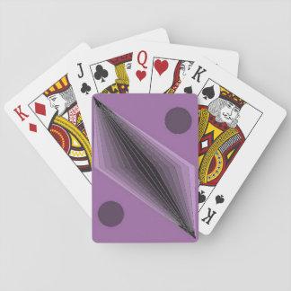 Baraja De Cartas Coruscants violeta (índice estándar)