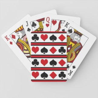 Baraja De Cartas Cuatro juegos de la tarjeta