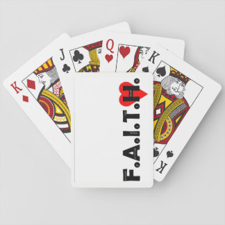Baraja De Cartas Cubierta de tarjetas