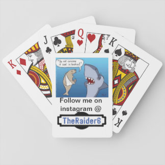 Baraja De Cartas Cubierta oficial Theraider6 de tarjetas