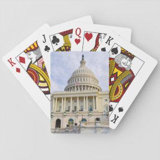 Baraja De Cartas Edificio de Capitol Hill en Washington DC