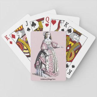 Baraja De Cartas El ~ VISTE el ~ Catherine del ~ 1666 del ~ de