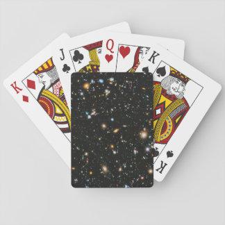 Baraja De Cartas Estrellas y galaxias del espacio profundo