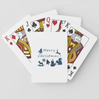 Baraja De Cartas Felices Navidad