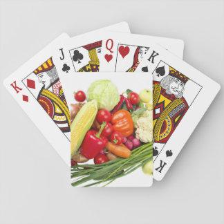 Baraja De Cartas Frutas y verduras