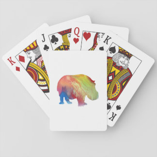 Baraja De Cartas Hippopotamus