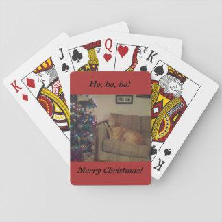 Baraja De Cartas Ho, ho, ho. ¡Felices Navidad!