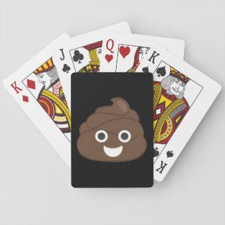 Baraja De Cartas Impulso tonto loco Emoji de Brown