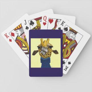 Baraja De Cartas Jirafa que juega Cardss