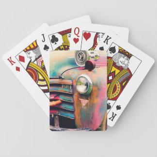 Baraja De Cartas Juegos de tarjeta del bombero