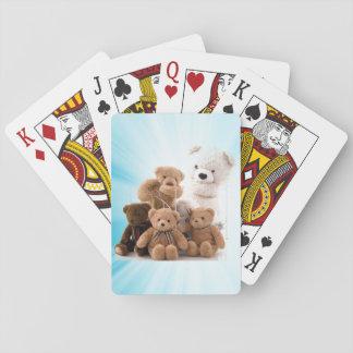 Baraja De Cartas La cubierta de la familia del oso de tarjetas