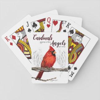 Baraja De Cartas Los ángeles de Aparecer de los cardenales son