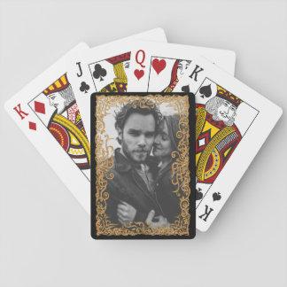 Baraja De Cartas Marco elegante con la foto