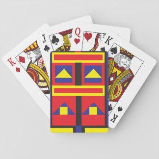 Baraja De Cartas Mondrian inspiró la baraja de naipe