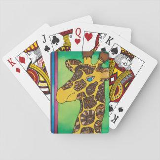 Baraja De Cartas Naipes: Serie de la jirafa