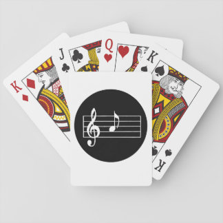 Baraja De Cartas Nota musical A