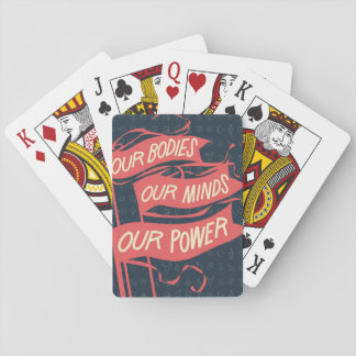 Baraja De Cartas Nuestros cuerpos, nuestras tarjetas del poder